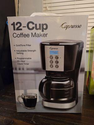 12 cup coffee maker new $25 for Sale in Chula Vista, CA