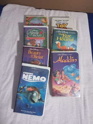 Disney Original VCR Movies for Sale in Houston, TX