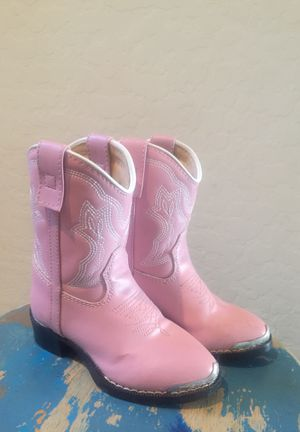 NEW Durango cowboy boots - little girls size 7-1/2 for Sale in Buckeye, AZ