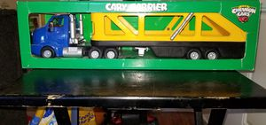 Chevron Collectors Cars Cary Carrier Car Trailer 1998, in excellent condition, adult owned, smoke free. for Sale in Houston, TX