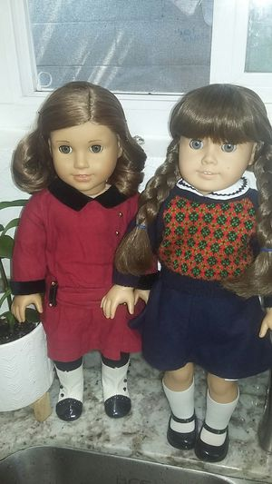 American Girl Doll Rebecca & Molly Set Of Of 2 for Sale in Costa Mesa, CA