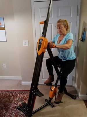 Brand New ANCHEER! Stair climber and bike, it folds up for easy storage. for Sale in Littleton, MA