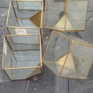 Glass Boxes Plant Aquarium for Sale in Phoenix, AZ
