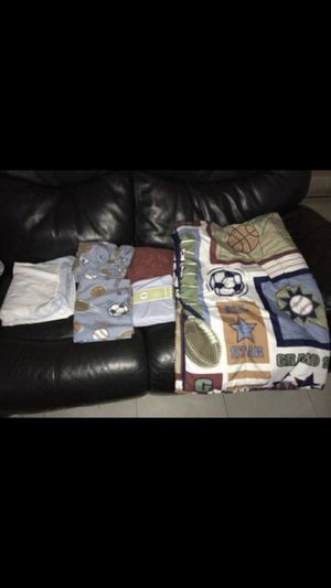 Baby boy blankets and sheets for Sale in Lauderdale Lakes, FL