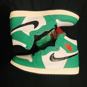 "Air Jordan 1 Retro High ""lucky Green"" Size 7 Men for Sale in Los Angeles, CA"