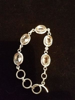 White topaz bracelet for Sale in Millersville, MD