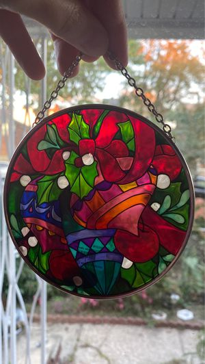 Christmas sun catcher for Sale in Queens, NY