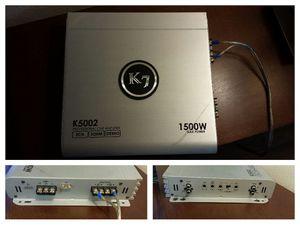 1500 watt K7 amplifier K5002 for Sale in El Cajon, CA