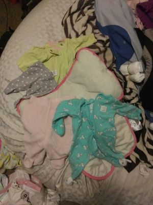 NB baby girl clothes for Sale in Kalamazoo, MI