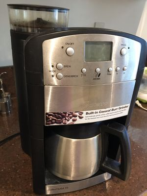 Coffee grinder and coffee maker for Sale in Los Angeles, CA