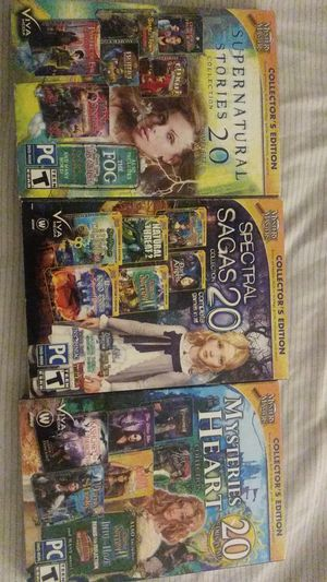 Mystery matters PC games sealed for Sale in Washington, DC