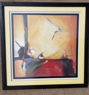 """Beautiful Decorative Abstract Art/ Painting 32""""X 32"""" Nice Condition! for Sale in Lake Elsinore, CA"""