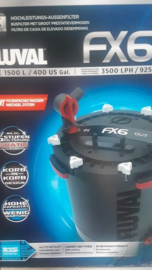Fluval FX6 Aquarium Fish Tank Filter for Sale in Shrewsbury, MA