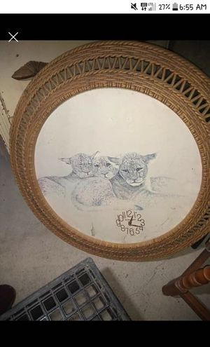 Stunning lion cub clock for Sale in Westfield, ME