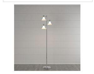 64-1/2 in. Brushed Nickel Floor Lamp ( Brand New ) for Sale in Winter Haven, FL