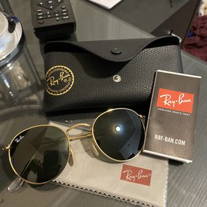 Ray Bans Round Metal Flat for Sale in Sacramento, CA