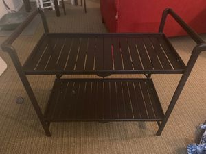 Foldable bar/coffee cart for Sale in San Diego, CA