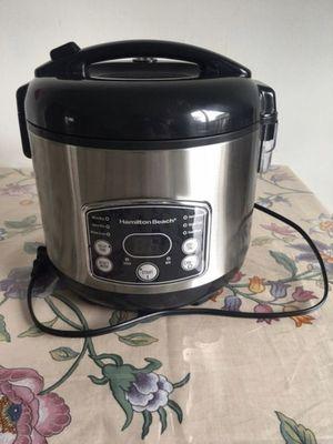 Hamilton Beach Programmable Rice Cooker and Steamer for Sale in Alexandria, VA