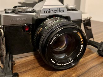 Minolta XG7 with MD Rokkor-X 50mm 1.4 and strap for Sale in Brooklyn,  NY