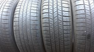 4 205/65R16 MICHELIN TIRES. TIRES MANUFACTURED ON 2016 AND 2017. HAVE ABOUT 75 - 80 % TREAD REMAINING. for Sale in Henderson, NV
