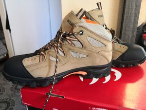 Brand new wolverine steel toe work boots size 12w for Sale in Riverside, CA