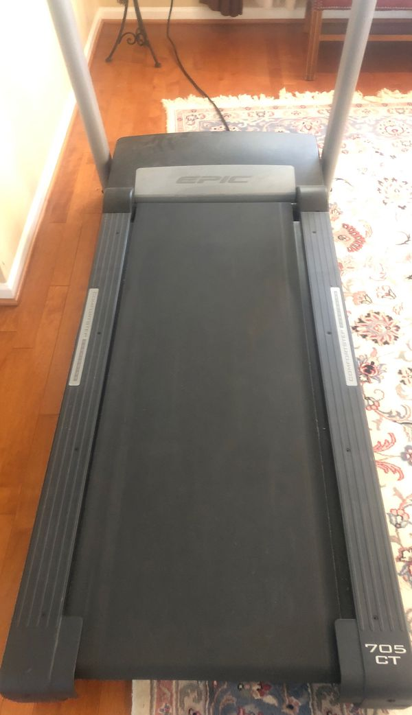 Foldable Treadmill by EPIC - MODEL: 705 CT.
