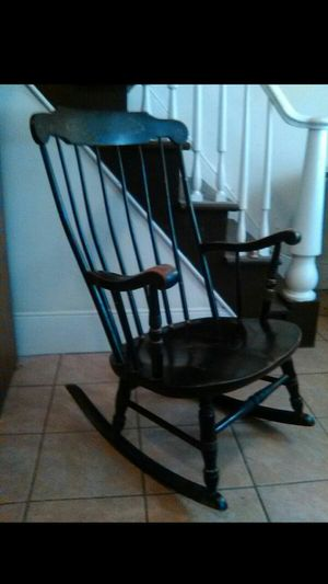 Solid wood rocking chair for Sale in Cleveland, OH