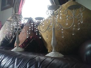 2 candelabra for Sale in Lowell, MA