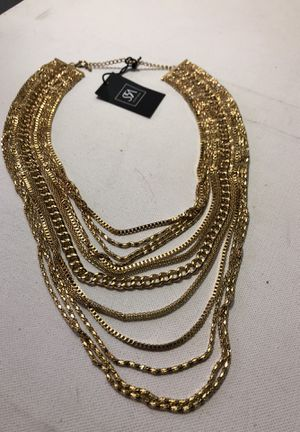 Gold Chain Layer Necklace for Sale in Baltimore, MD