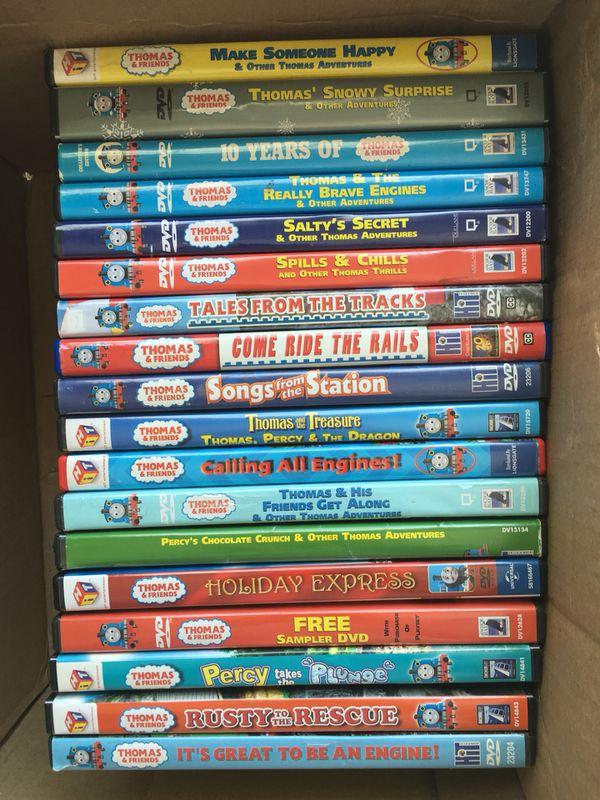 Thomas Dvd Collection For Sale In Virginia Beach Va Offerup