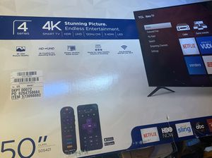 "TCL 50"" Roku Smart TV (Still in box) for Sale in Chicago, IL"