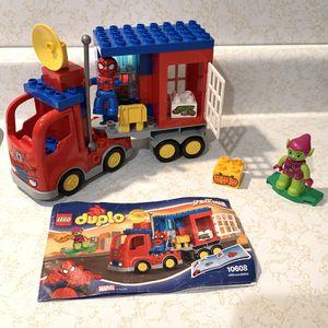 LEGO DUPLO MARVEL SPIDER-MAN TRUCK ADVENTURE SET 10608 COMPLETE W/ MANUAL for Sale in HUNTINGTN BCH, CA
