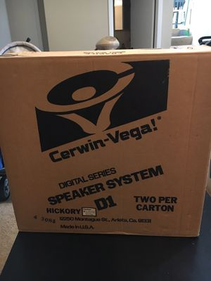 Cerwin-Vega Speaker system for Sale in Mount Prospect, IL