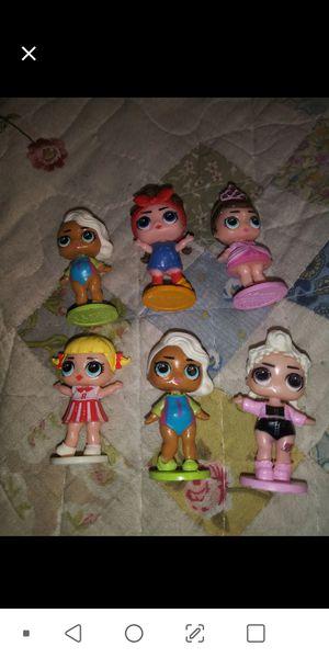 Mini lol figures 6 for Sale in Phoenix, AZ