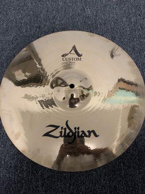 "Zildjian A Custom crash cymbal 16"" for Sale in Chicago, IL"