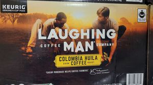 Coffee laughing man for Sale in Des Moines, WA