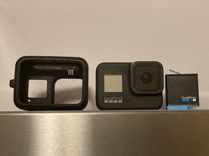 GoPro 8 + Case, protected films, battery for Sale in Arlington, VA