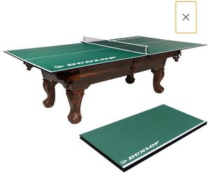 Official Size Table Tennis Conversion Top, Family Room, Garage, Playroom, Entertainment Room for Sale in Los Angeles, CA