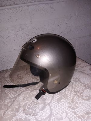 motorcycle helmet silver Size XXL nice conditioned for Sale in Glendale, AZ