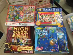 Take it all for $25 kids puzzles and games for Sale in Miami, FL