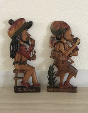 JAMAICAN WOOD DECOR for Sale in Hialeah, FL