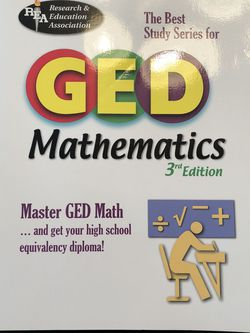 Mathematics GED Book for Sale in St. Louis,  MO