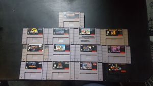 Snes Video Games for Sale B for Sale in Rancho Cucamonga, CA