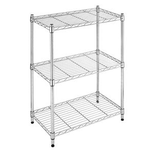 Metal storage shelves - 3 shelf adjustable shelving unit for Sale in Houston, TX