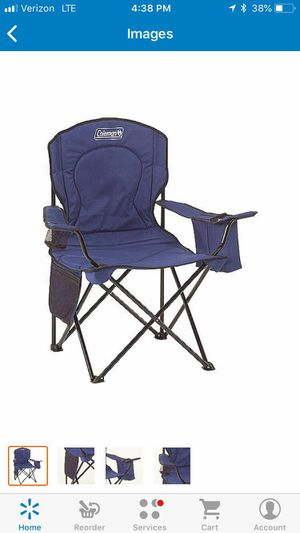 Oversized quad chair with cooler pouch for Sale in St. Louis, MO