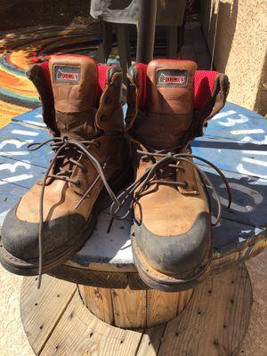 Men's Steel Toed Rocky Brand Work Boots (10) for Sale in Gilbert, AZ