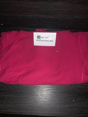 Supreme Small Box Logo Hooded Sweatshirt Fuchsia for Sale in Rancho Cucamonga, CA