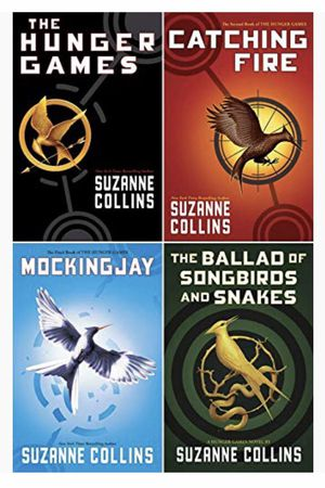 Hunger Games 4-book Hardcover Set (The Hunger Games, Catching Fire, Mockingjay, The Ballad of Songbirds and Snakes) all for $50 !!!NEW!!! HP 1-8 for Sale in Everett, WA