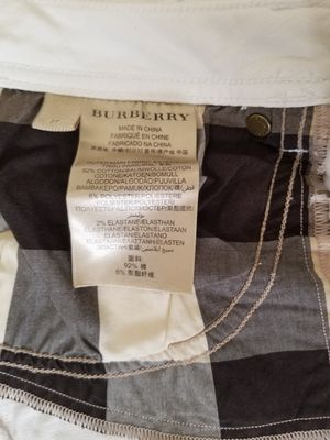 Burberry Jeans, Size 27, Soft White for Sale in Mason, OH