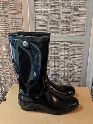 Womens UGG Australia Shaye Black Rain Boot for Sale in Milwaukee, WI